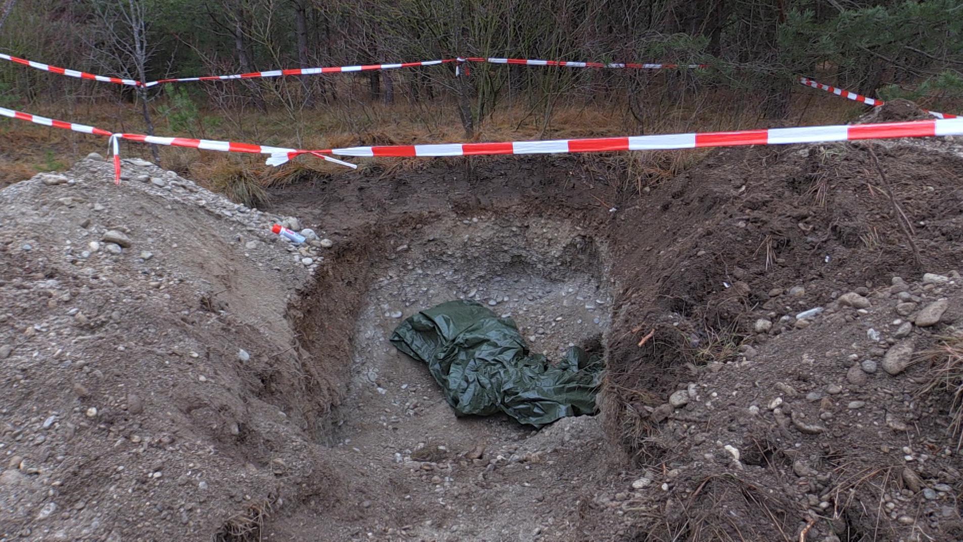Im Münchner Stadtteil Freimann ist eine Fliegerbombe aus dem Zweiten Weltkrieg gefunden worden.