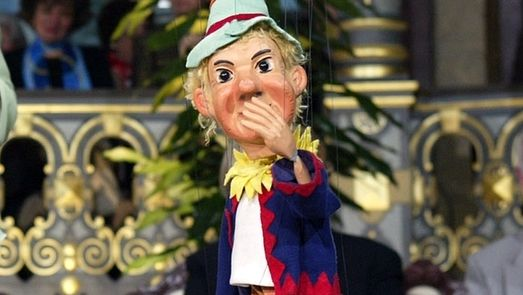 Der Kasperl der Augsburger Puppenkiste  - hier im BR Fernsehen