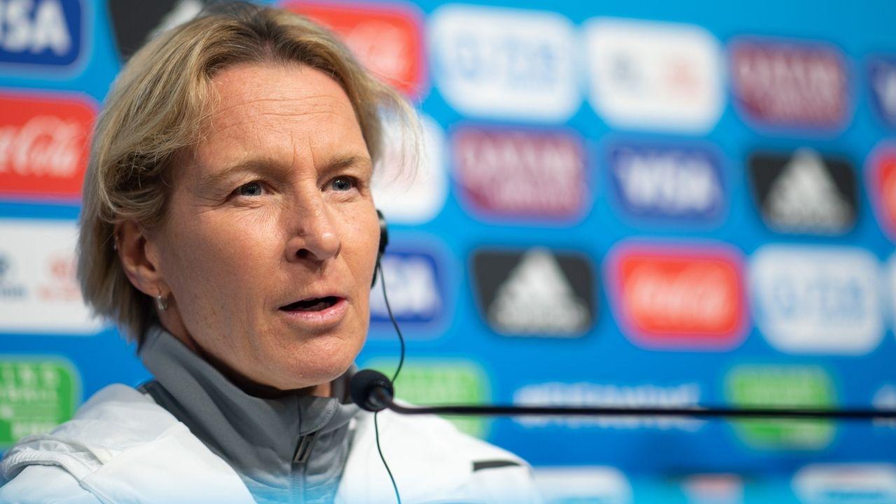 Martina Voss-Tecklenburg, Trainerin der deutschen Frauen-Nationalmannschaft