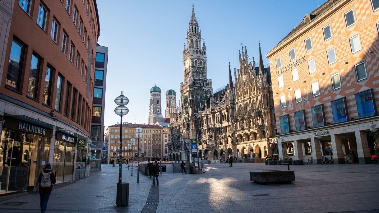 Münchner Innenstadt (Symbolbild)