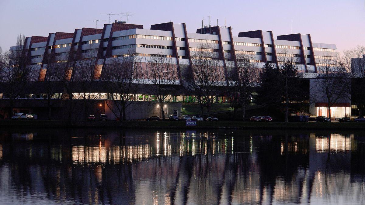 Der Sitz des Europarats in Straßbourg