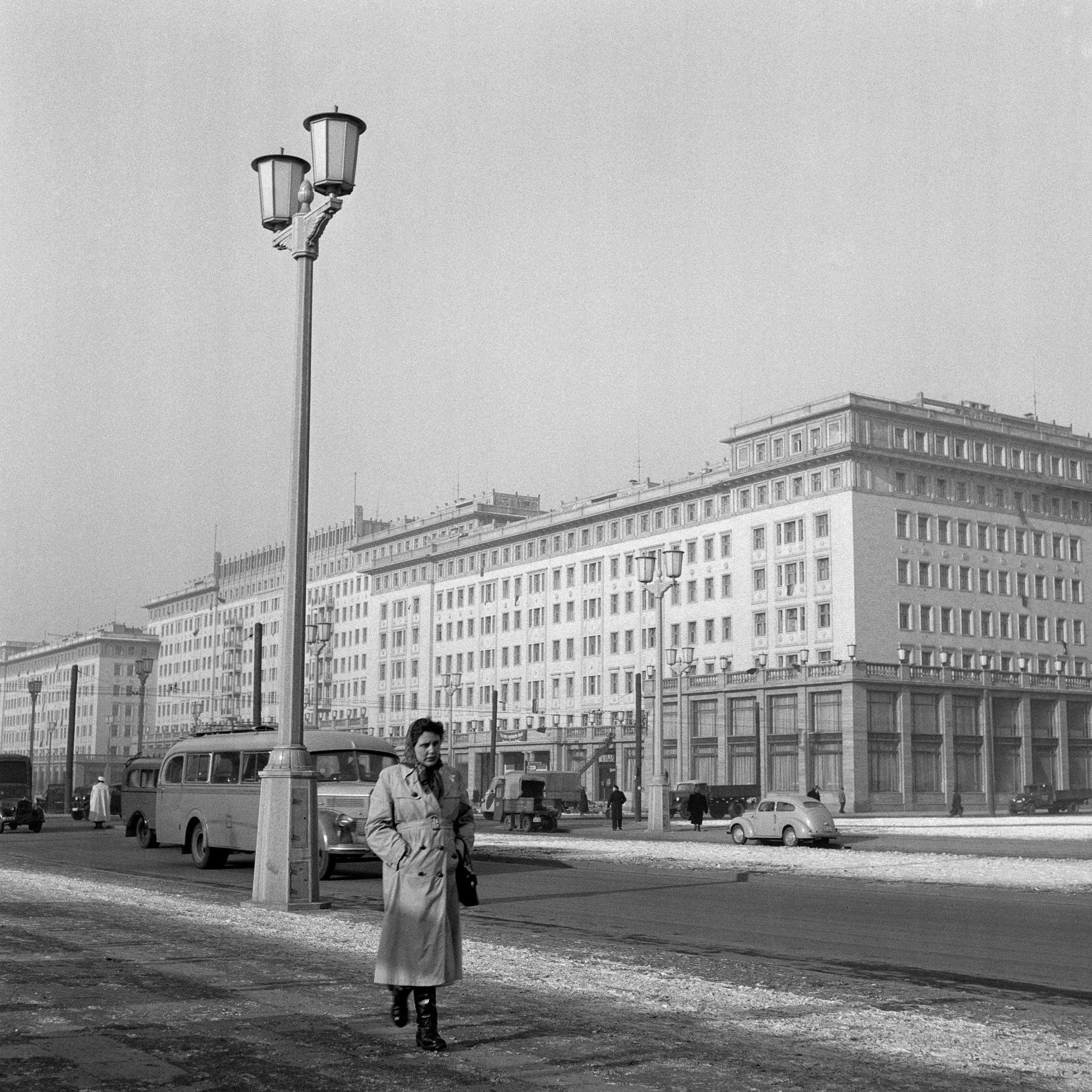 Die Stalinallee - Prachtboulevard für Arbeiter