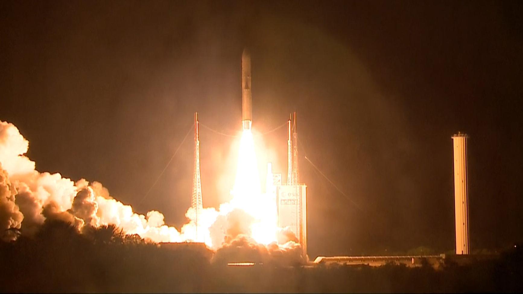 """Start der europäisch-japanischen Sonde """"BepiColombo"""""""