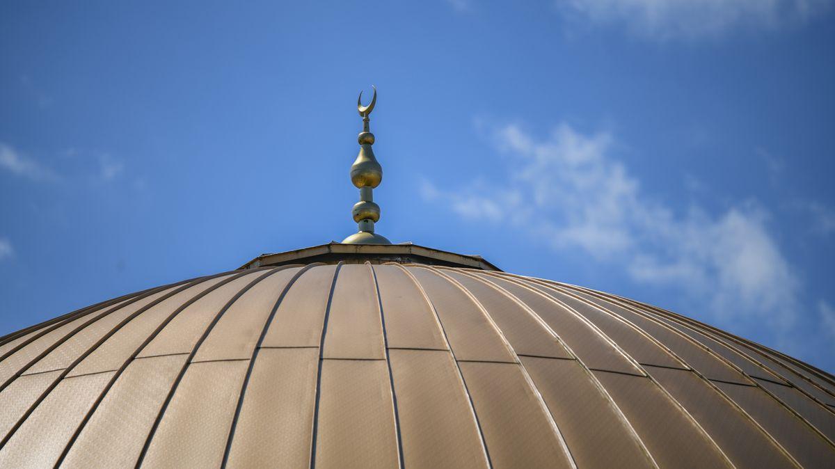 Dach einer Moschee in Deutschland