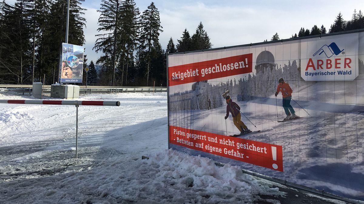 Die Skilifte am Arber sind derzeit geschlossen.