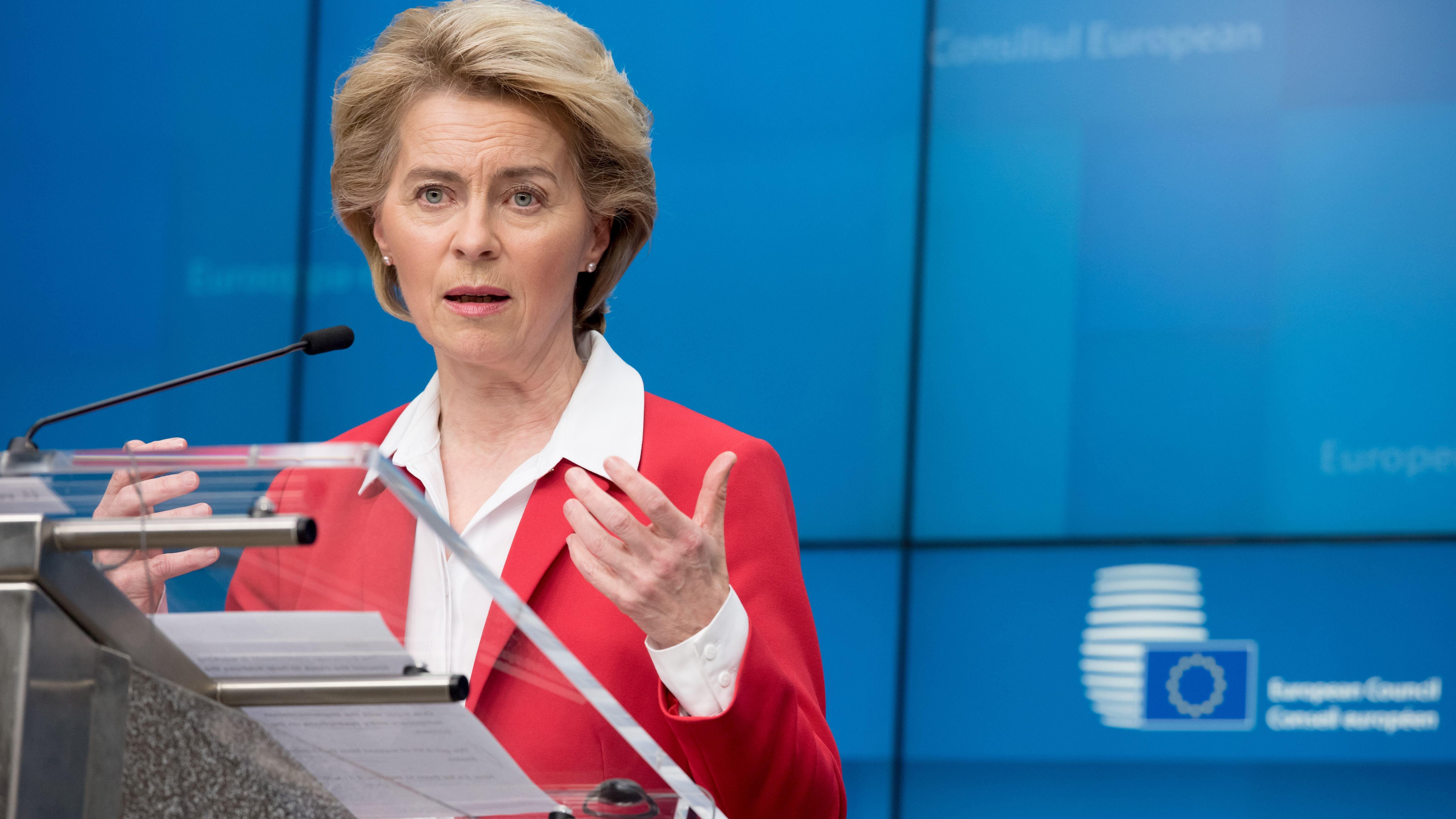 Ursula von der Leyen, EU-Kommissionspräsidentin