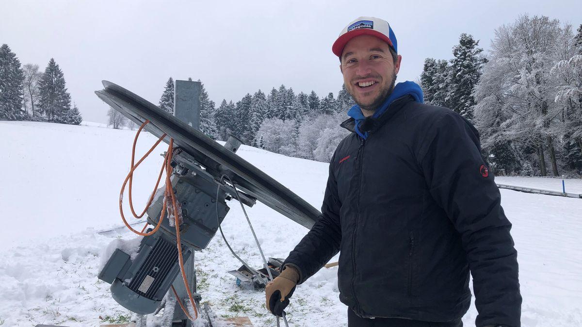Skilift im Westallgäu