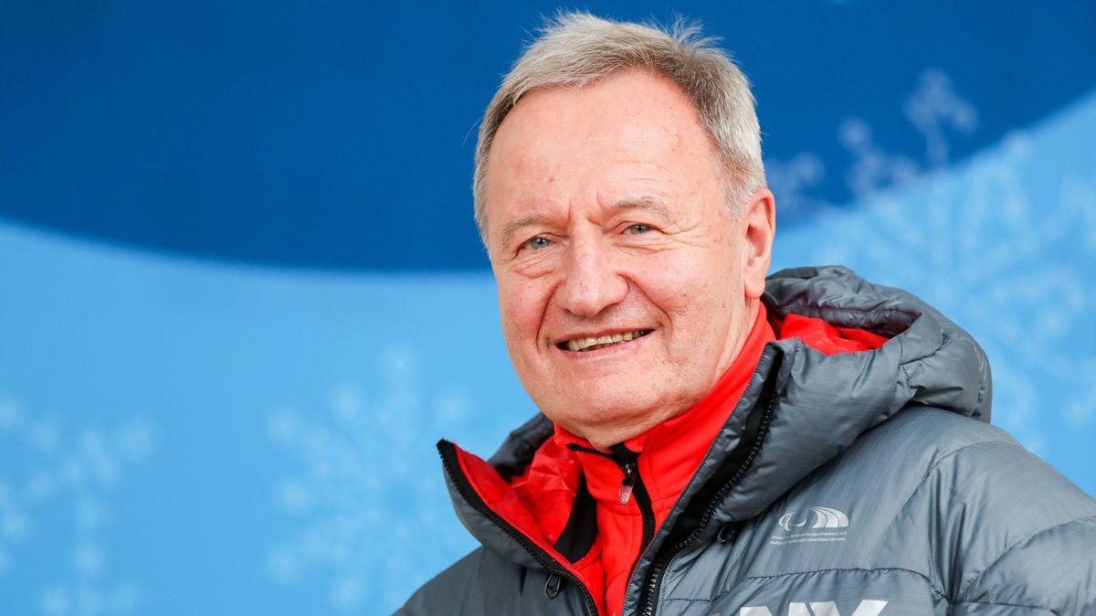Friedhelm Julius Beucher, Präsident des Deutschen Behindertensportverbandes