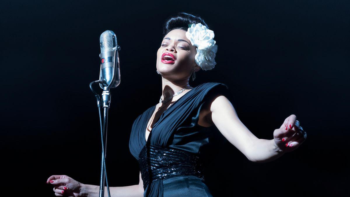 """Ausschnitt aus dem Filmdrama """"The United States vs. Billie Holiday"""""""