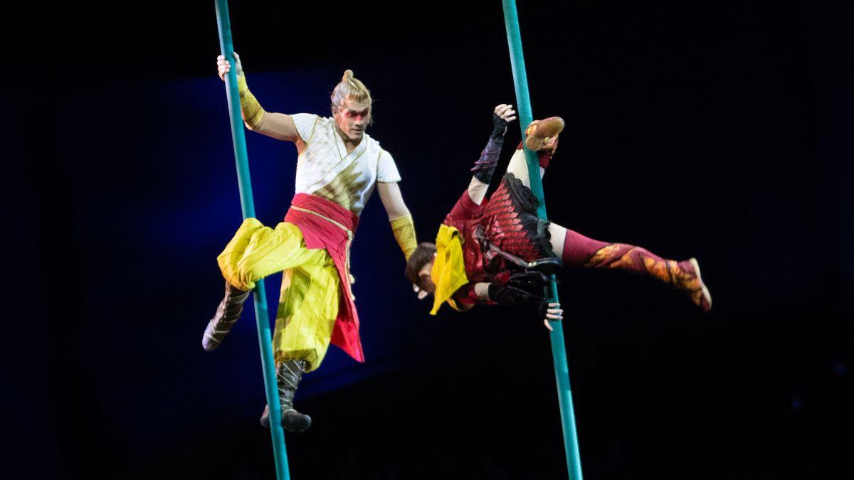 Vorstellung des Cirque du Soleil