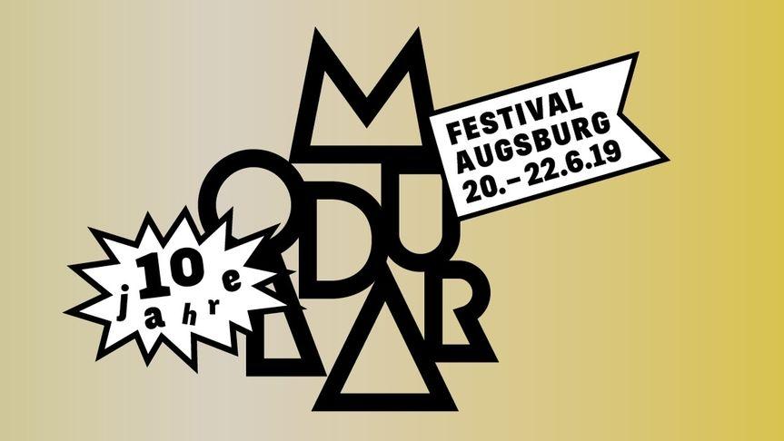 Das Logo des Modular Festivals 2019