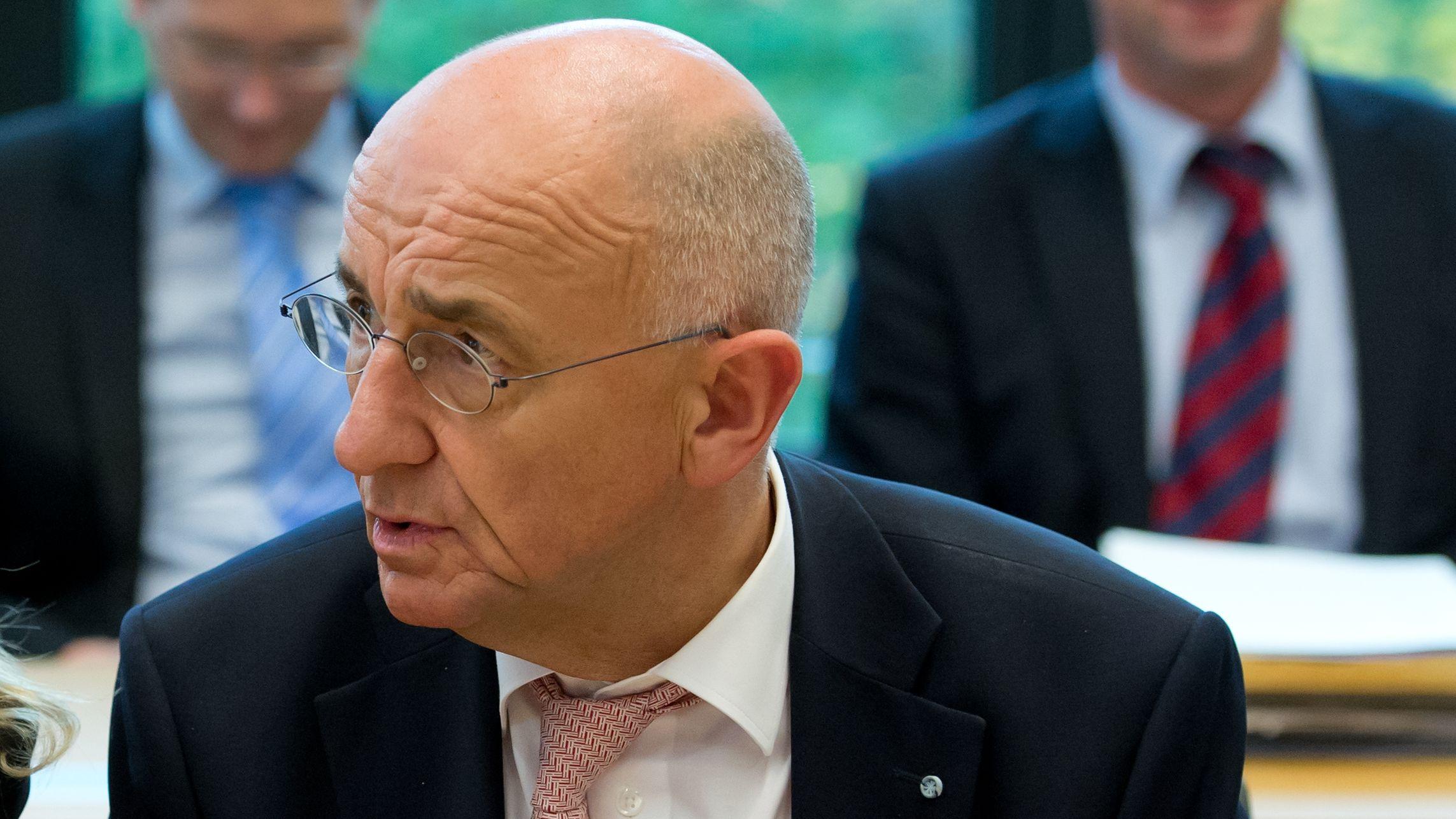 Alfred Sauter, CSU, 2013 im Landtag