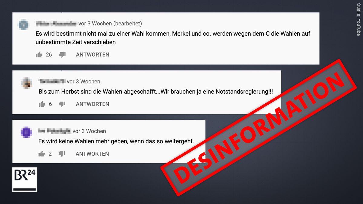 Bei den Gerüchten rund um die Bundestagswahl wiederholt sich die bekannte Verschwörungserzählung einer angeblichen Corona-Diktatur