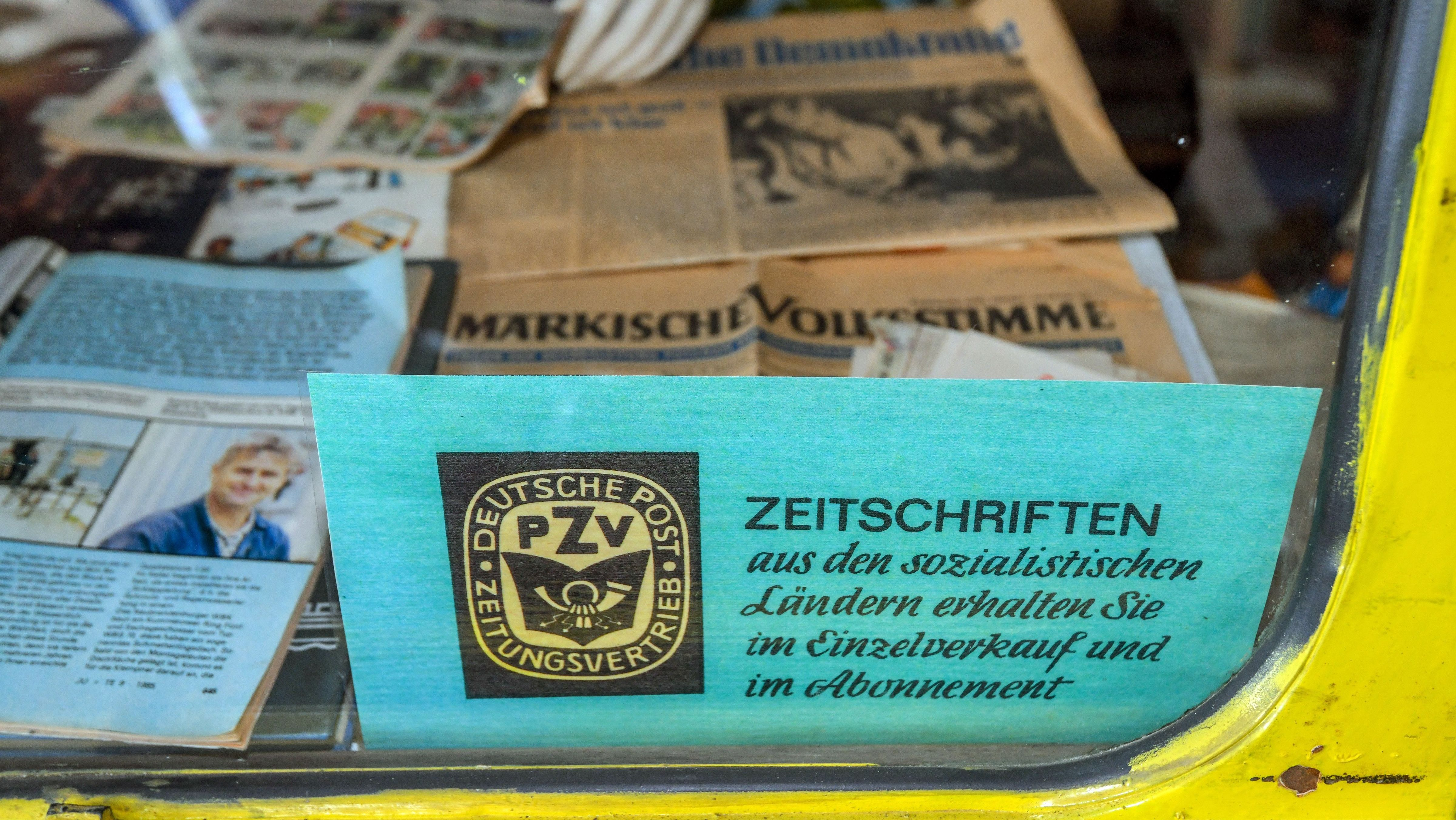 Zeitschriften in der ehemaligen DDR