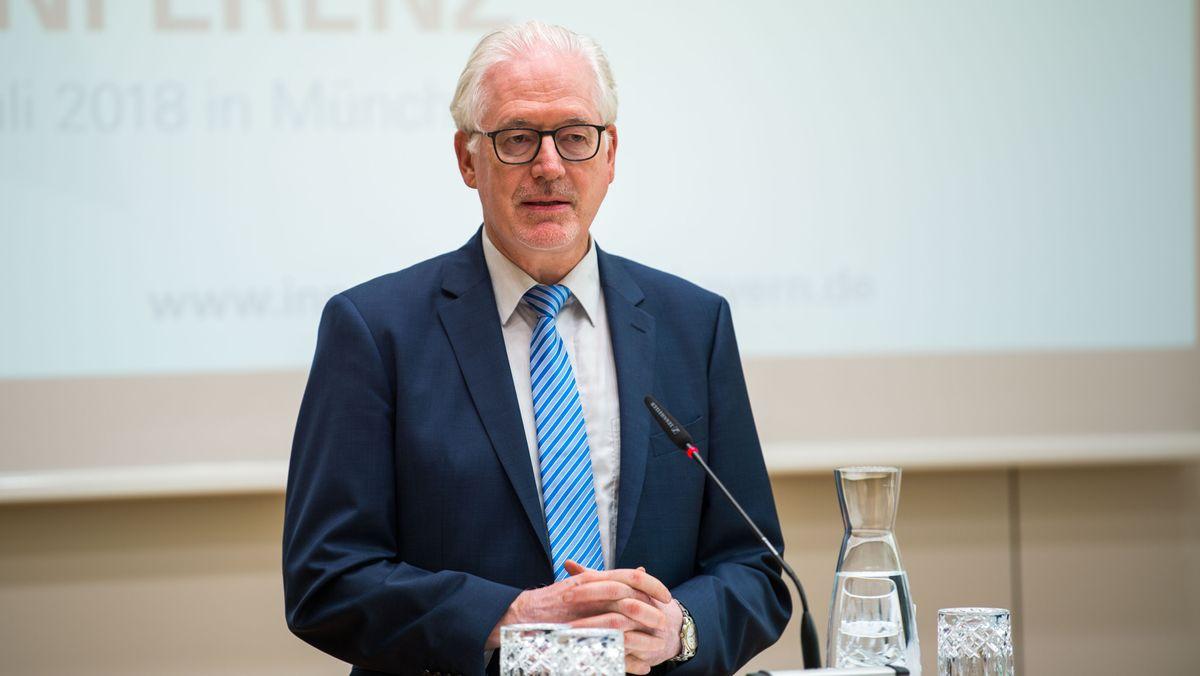 Der Präsident der Diakonie Bayern Michael Bammessel