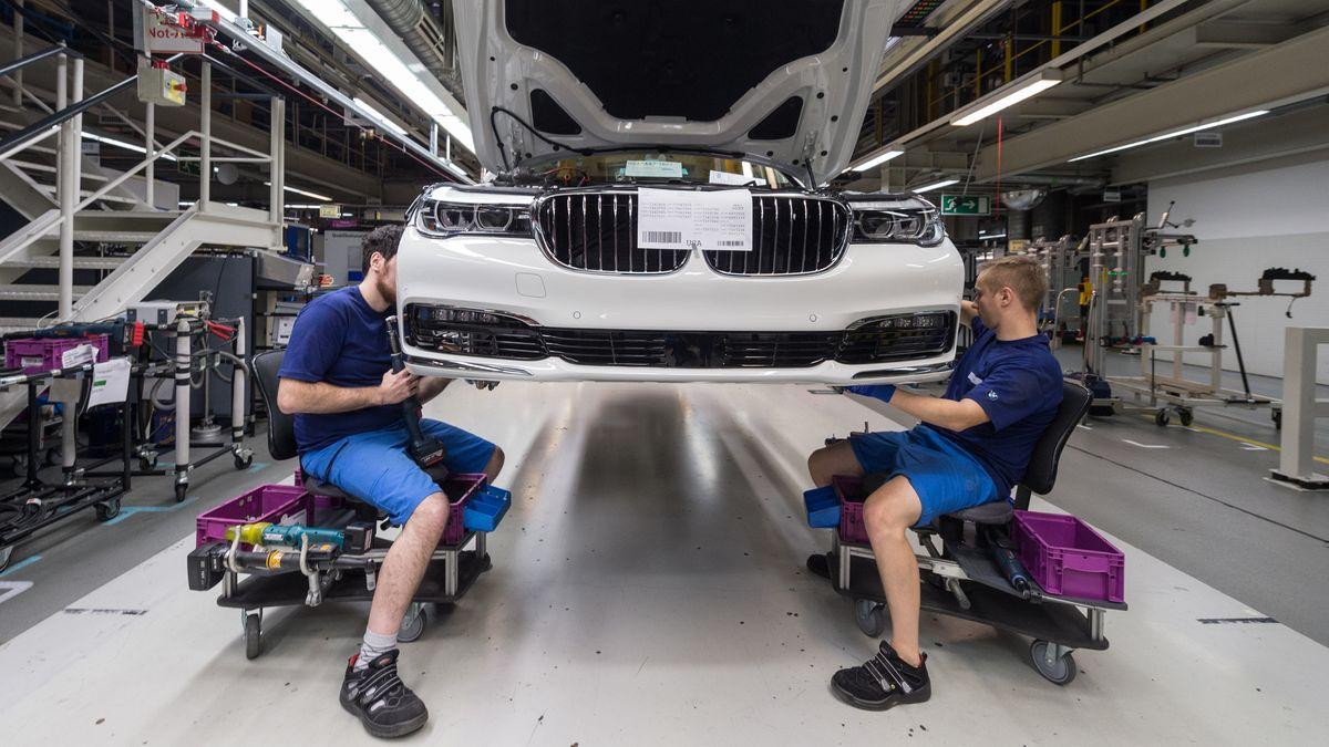BMW-Fertigung in Dingolfing