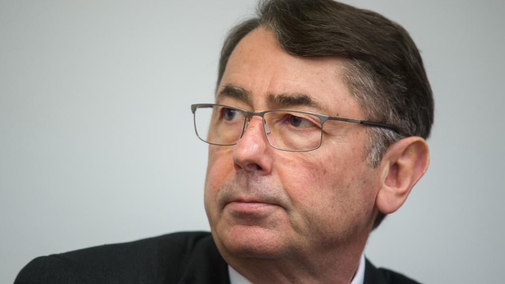 Ex-HRE-Chef Georg Funke im Jahr 2017 | Bild:Peter Kneffel / dpa-Bildfunk