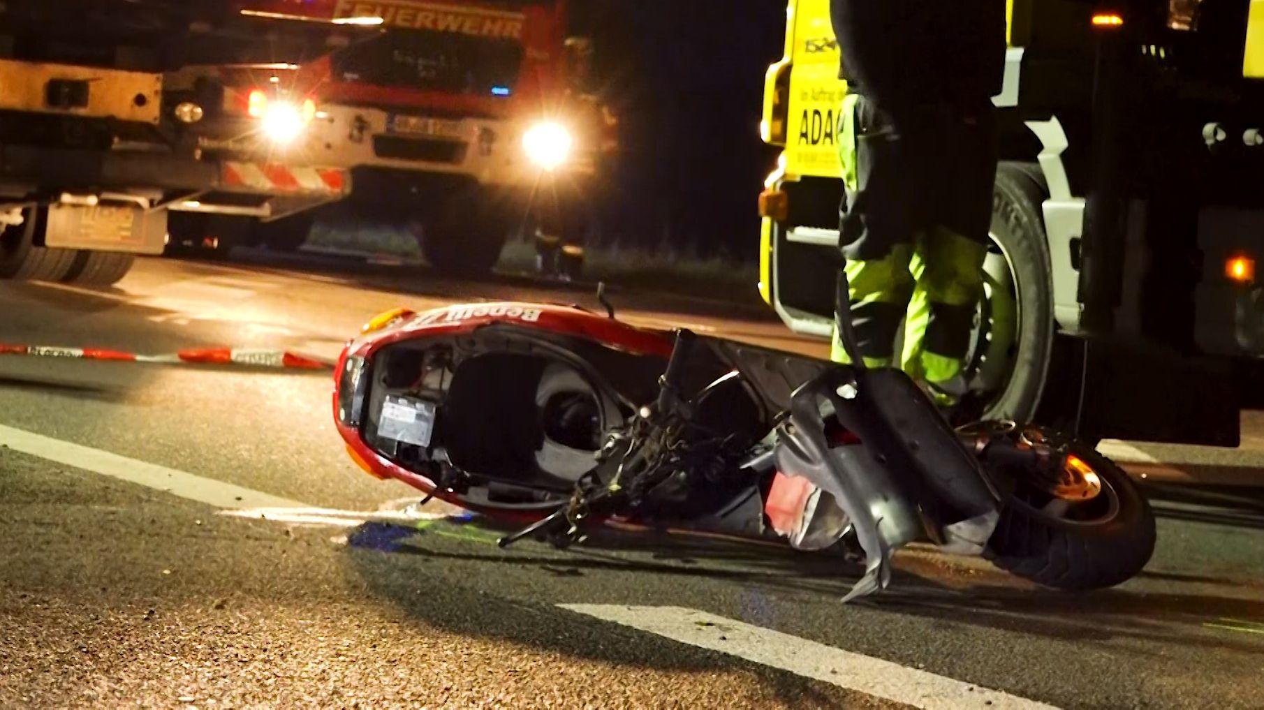 Rollerfahrer bei Verkehrsunfall in Bessenbach verstorben