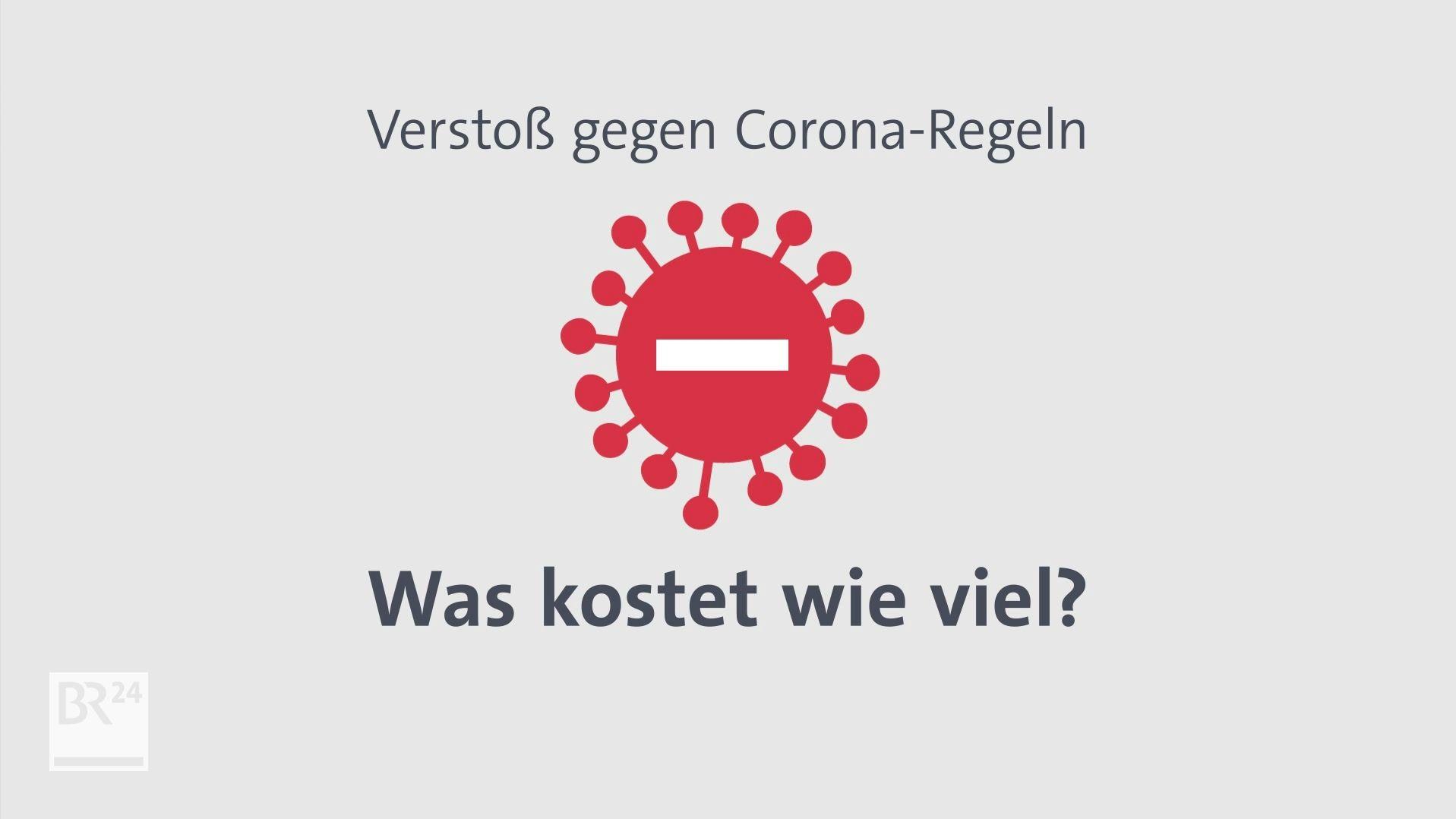 Damit die Auflagen in der Coronakrise auch eingehalten werden, hat das Bayerische Innenministerium zusammen mit dem Gesundheitsministerium Bußgelder für Regelverstöße festgelegt. Manches kann sogar als Straftat gewertet werden.