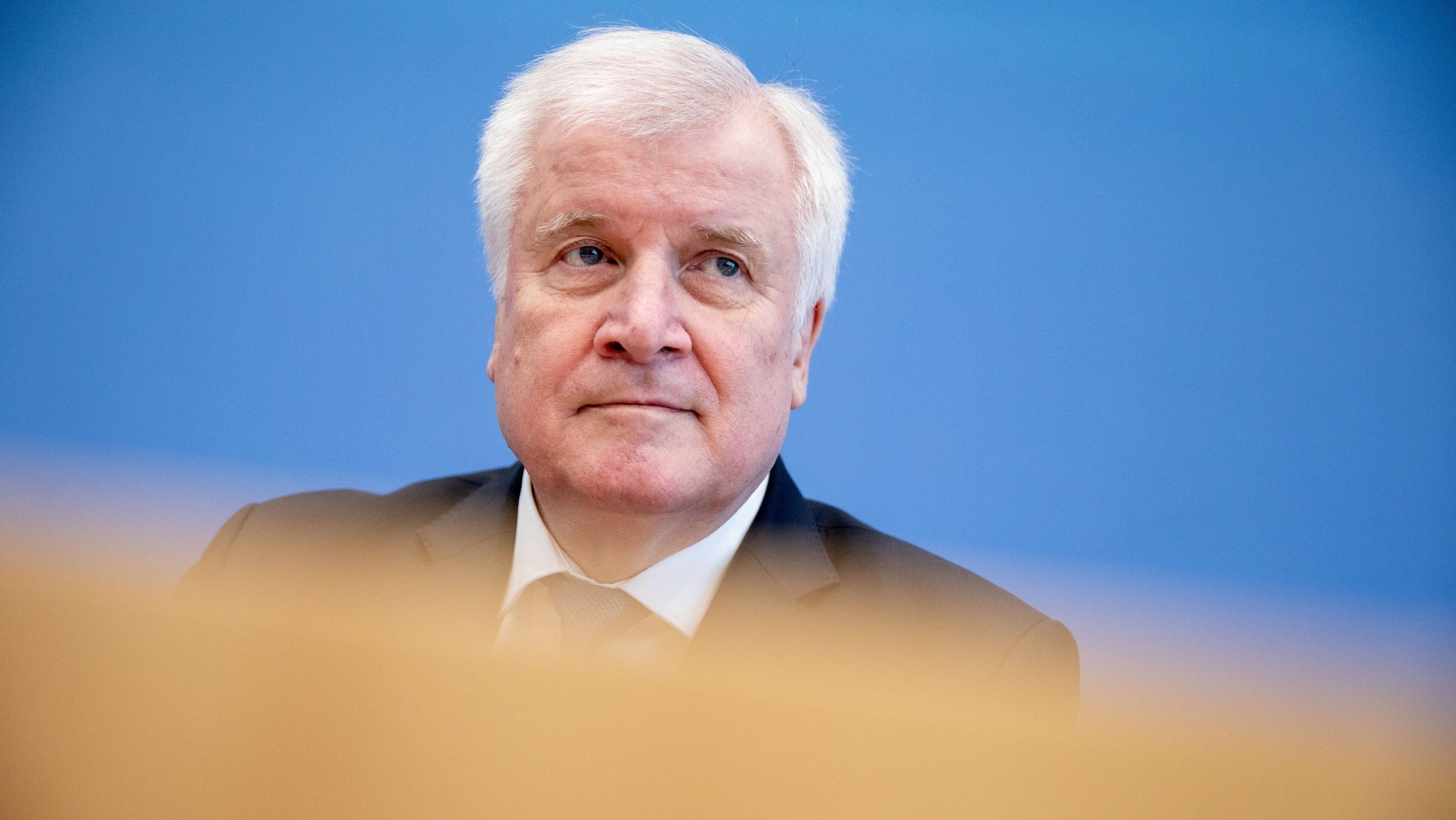CSU-Chef Horst Seehofer in Berlin