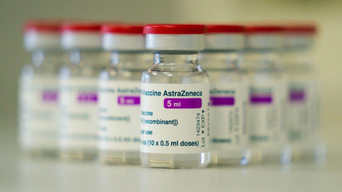 Coronavirus - Impfstoff von AstraZeneca.