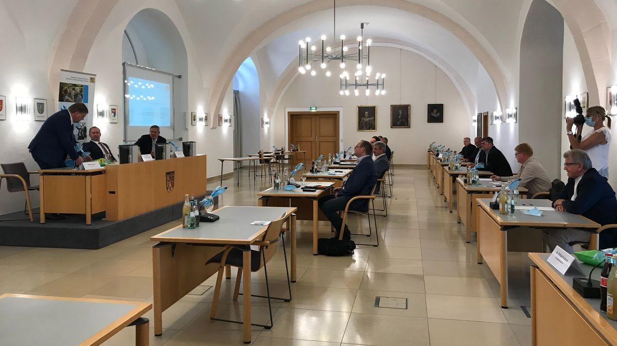 Treffen im Landratsamt Amberg-Sulzbach.