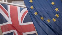 Britische und EU-Flagge | Bild:picture alliance / empics
