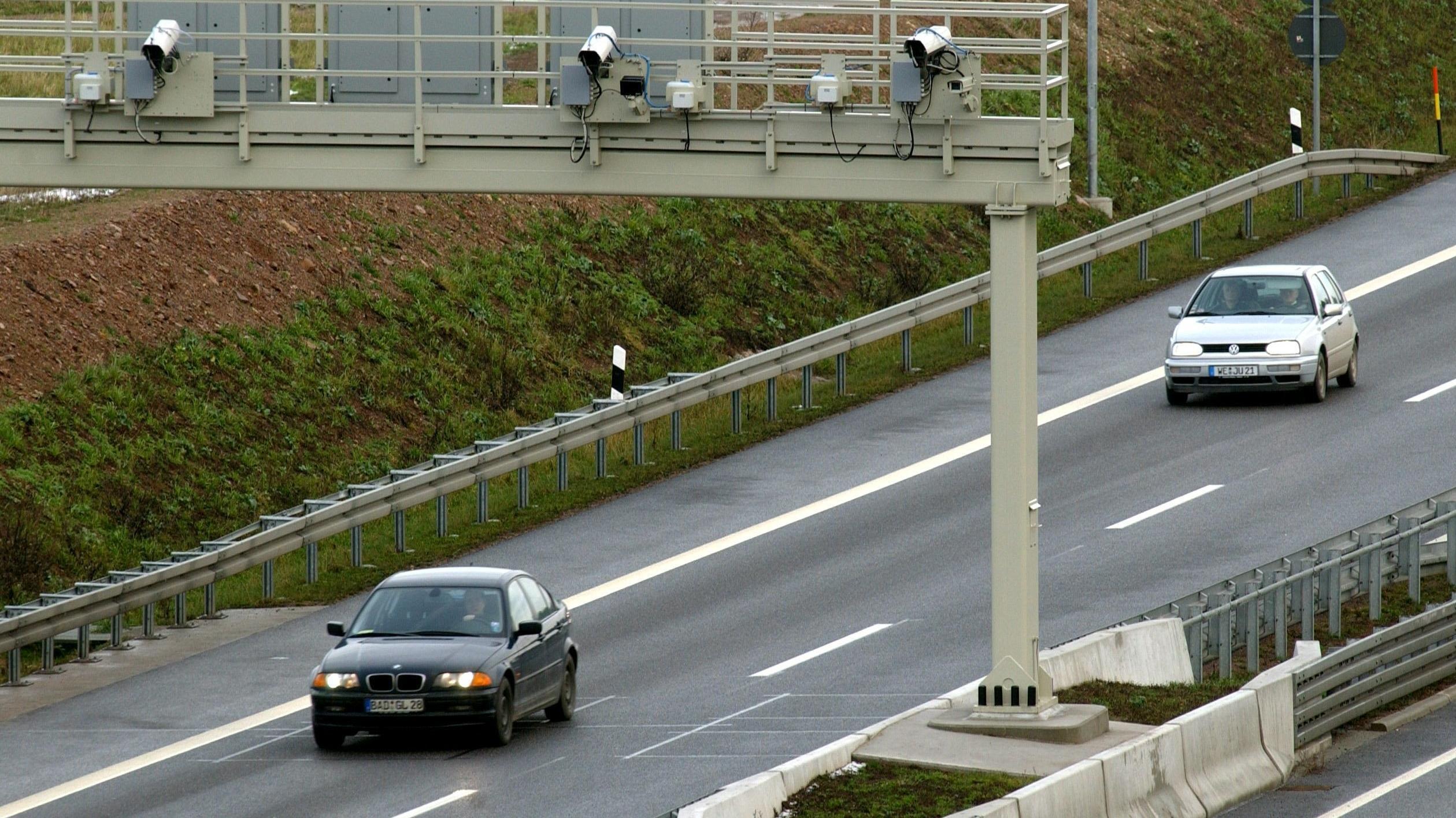 Videoüberwachung auf der Autobahn