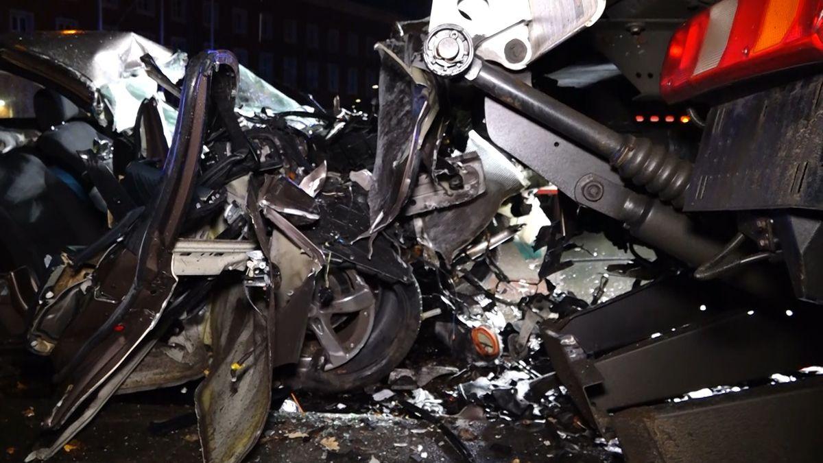 Schwerer Unfall in der Nürnberger Südstadt
