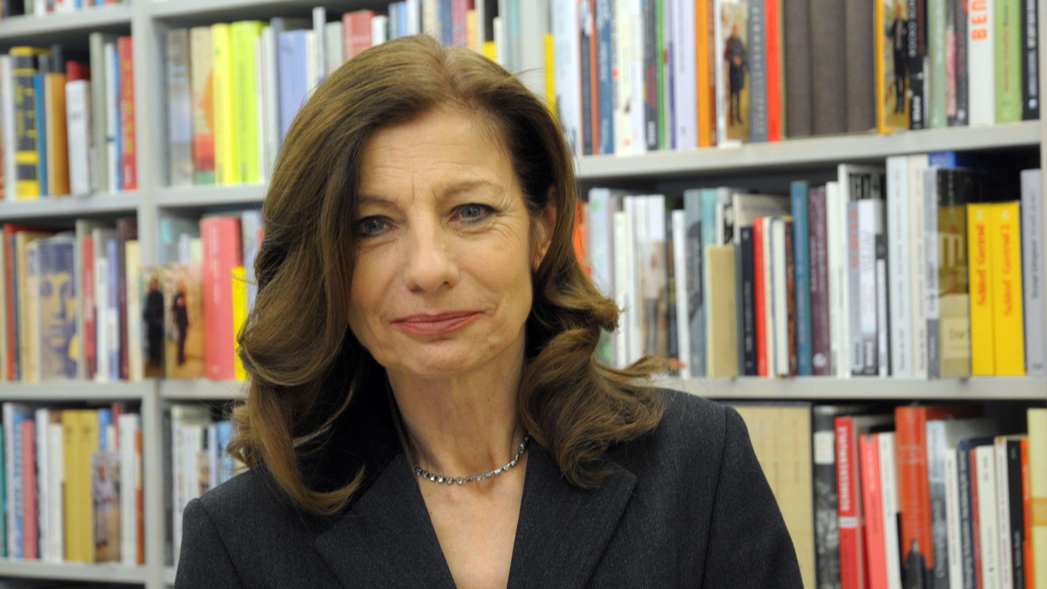 Die in Trier geborene und in Berlin lebende Schriftstellerin Ursula Krechel. Für ihr literarisches Werk erhält sie heute am Abend in München den Jean-Paul-Preis.