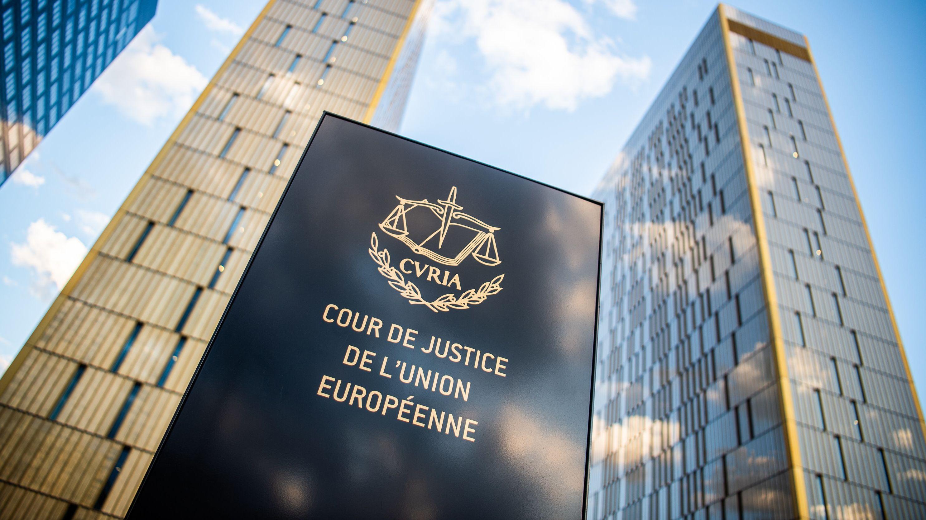 Europäischer Gerichtshof in Luxemburg.