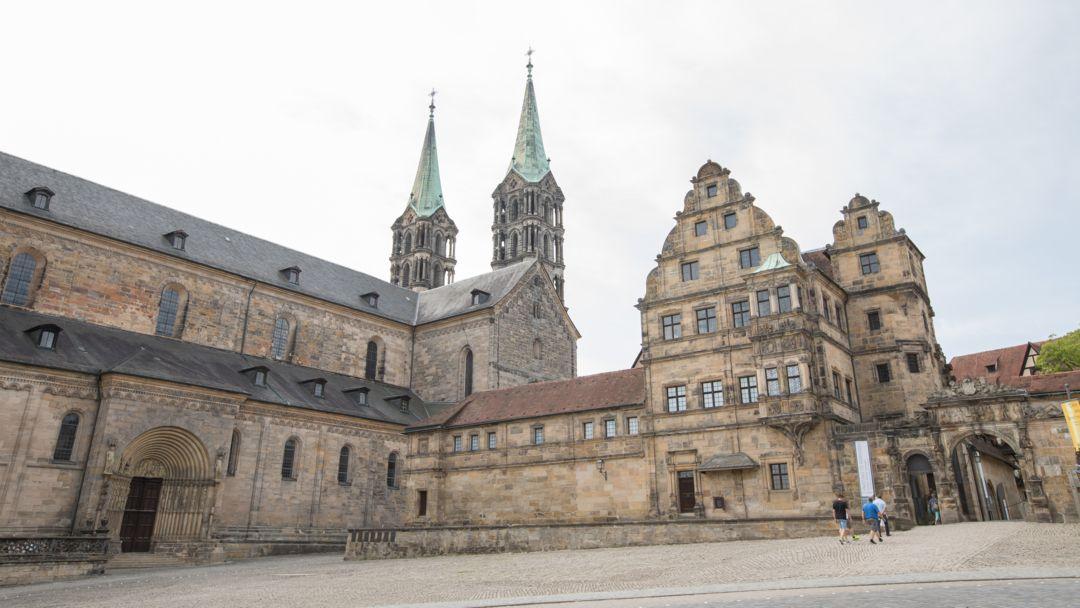 Der Bamberger Dom von außen