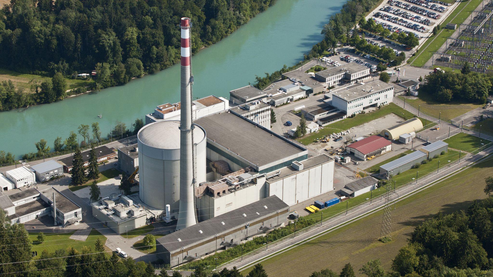 Das Kernkraftwerk Mühleberg bei Bern wird heute abgeschaltet.