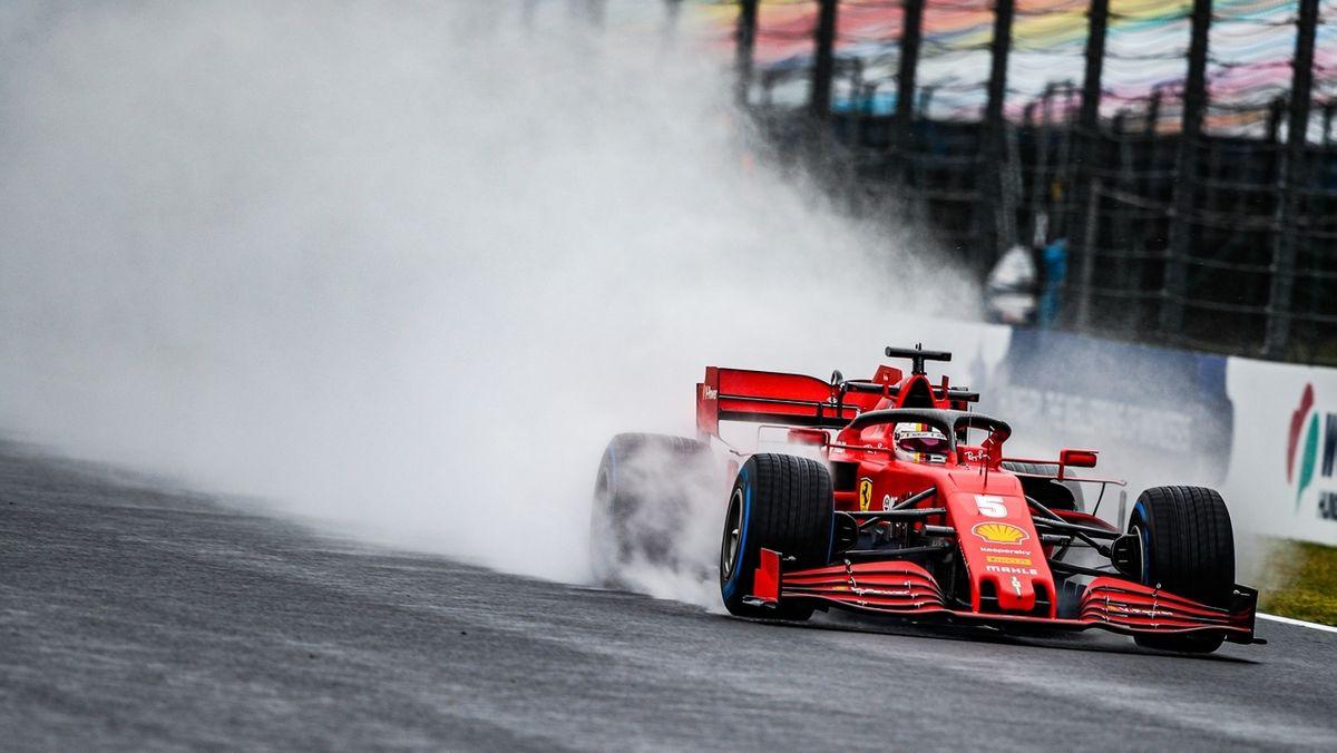 Sebastian Vettel bei seinem Training in Budpest