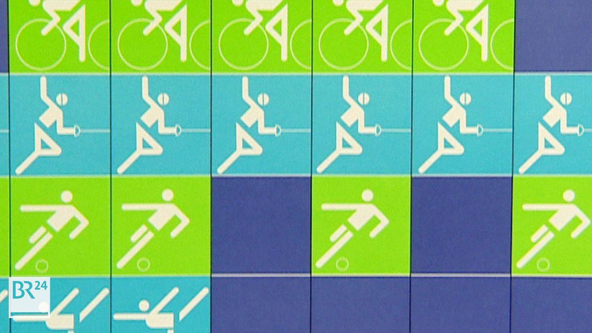 Piktogramme von Otl Aicher für die Olympischen Spiele 1972 in München