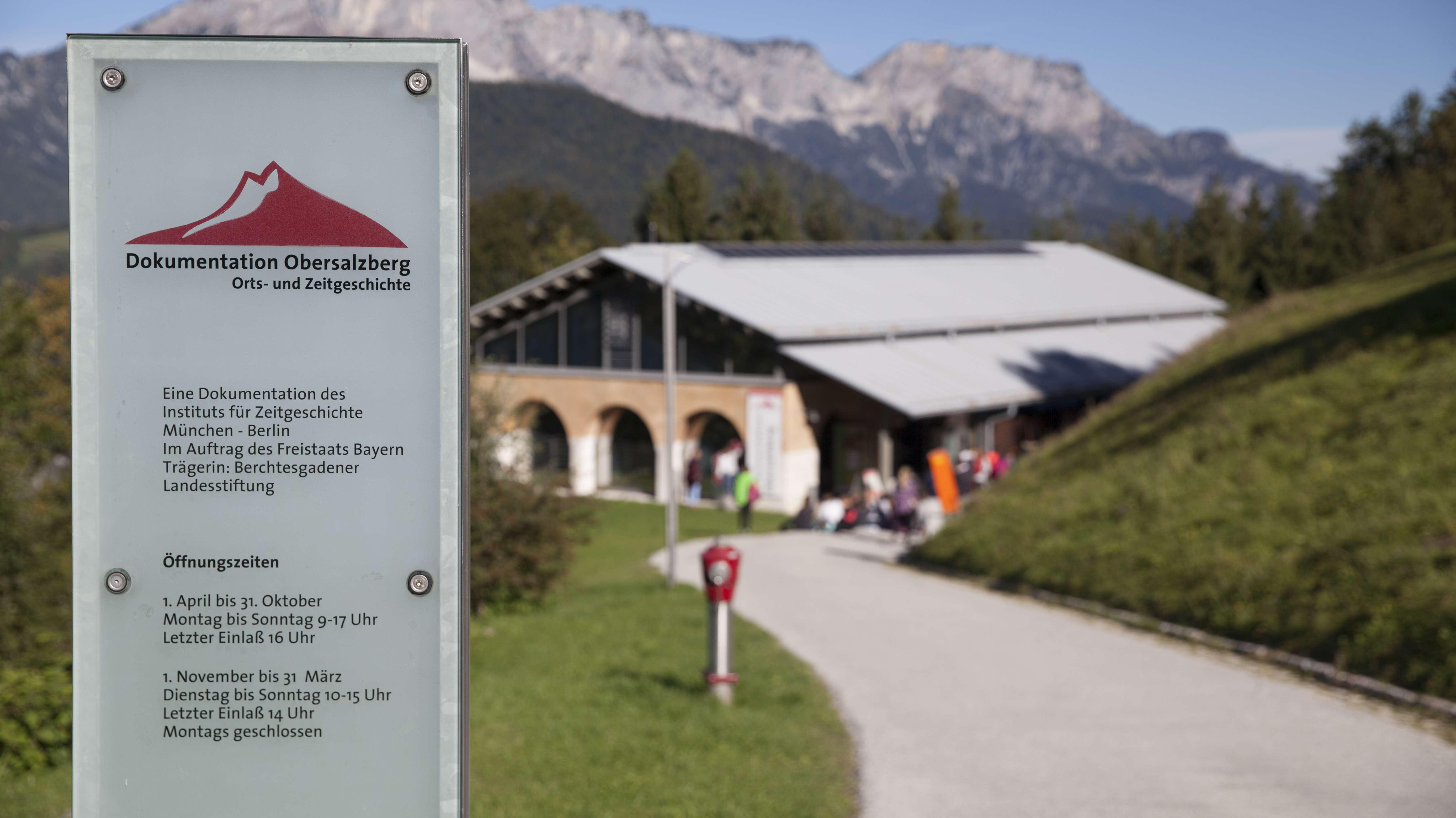 Das Dokumentationszentrum Obersalzberg in Berchtesgaden