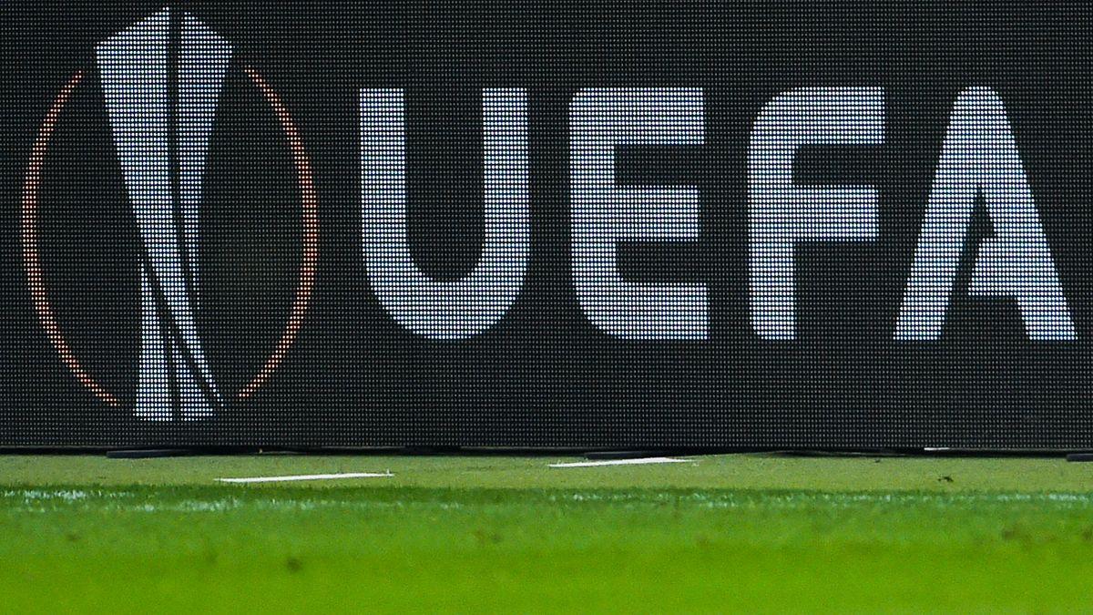 Schriftzug UEFA