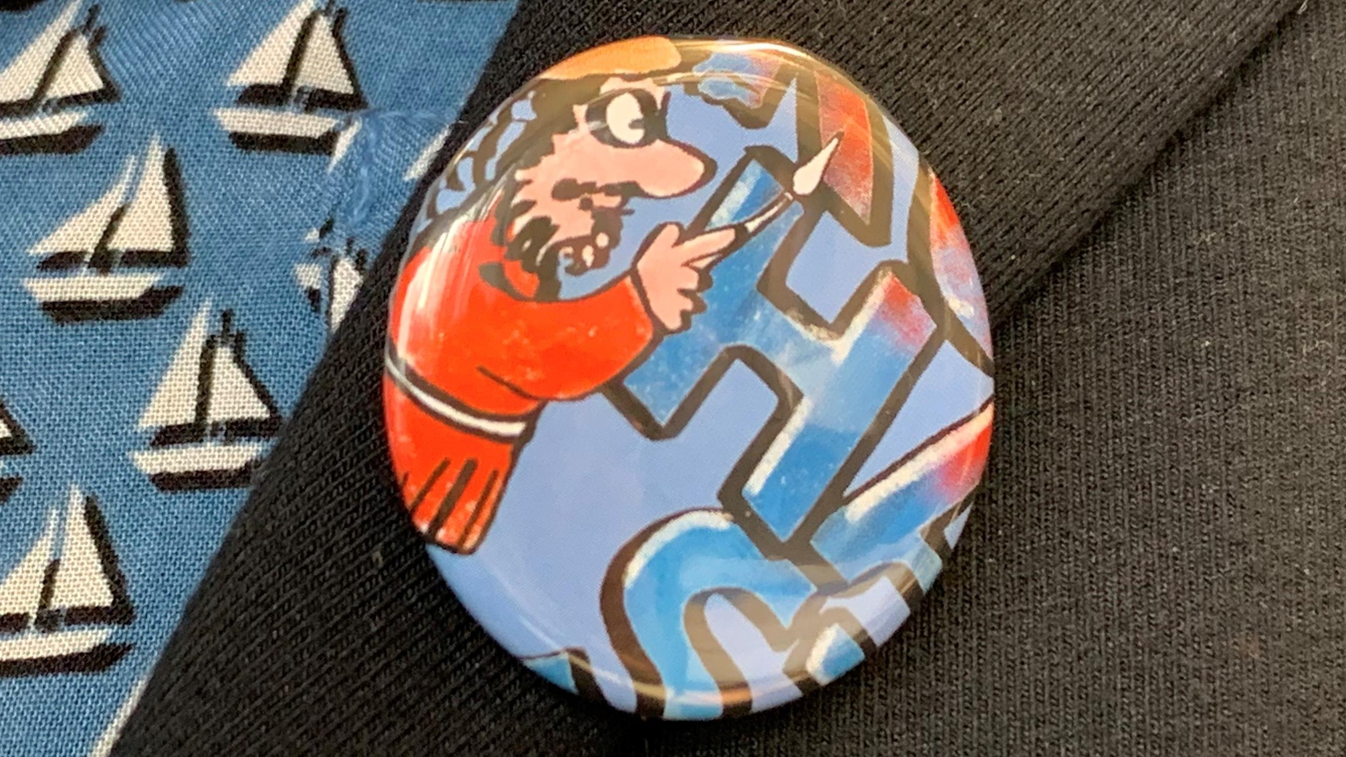 "Button ""Fanclub Kulturhauptstadt"""