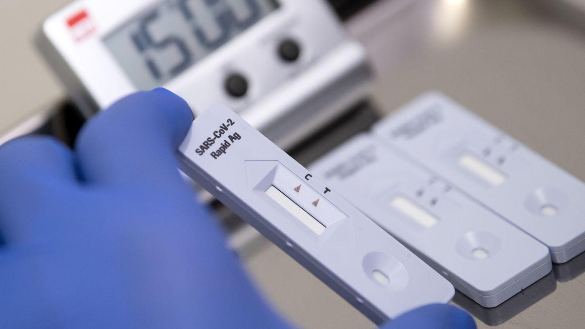 Antigen-Schnelltest zum COVID-19-Antikörper-Nachweis