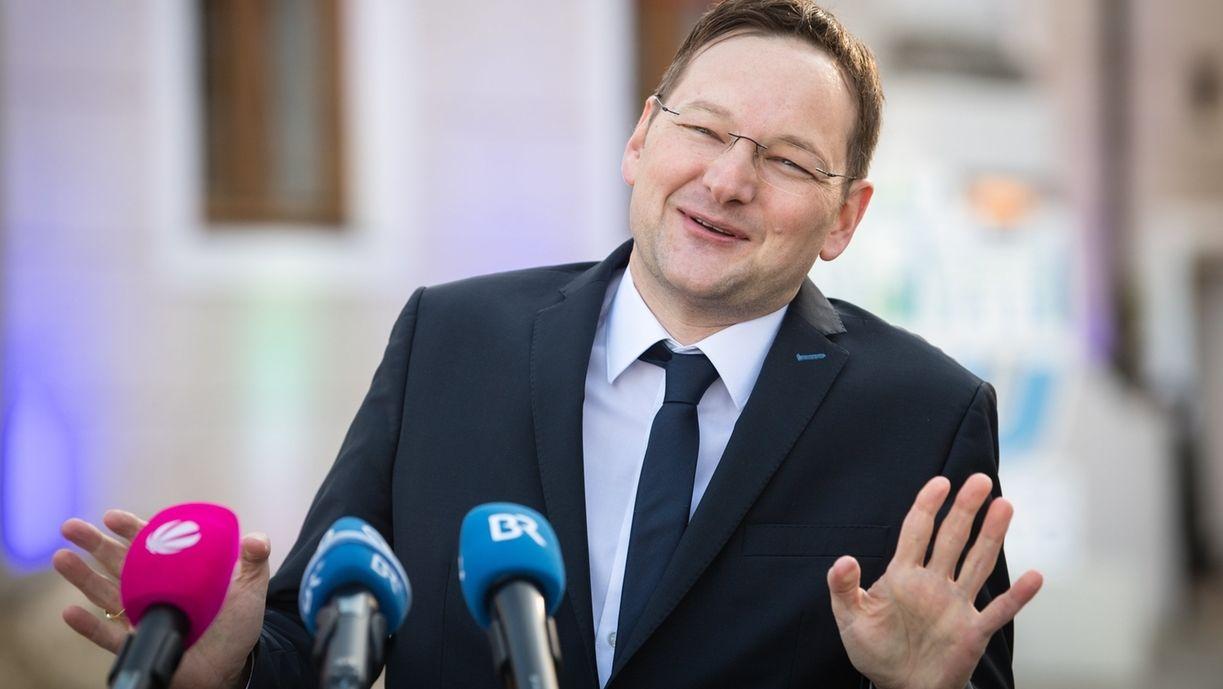 Bau- und Verkehrsminister Hans Reichhart, CSU, bei der Klausurtagung der CSU-Landtagsfraktio am 14.1.2020 in Kloster Seeonn
