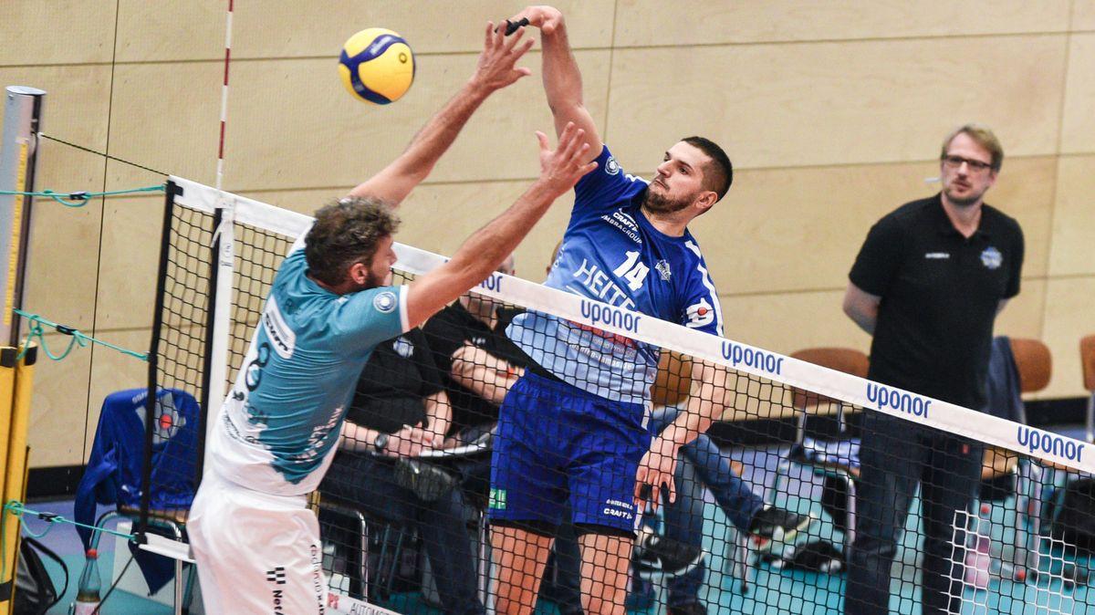 Spielszene der Volleyball-Bundesliga