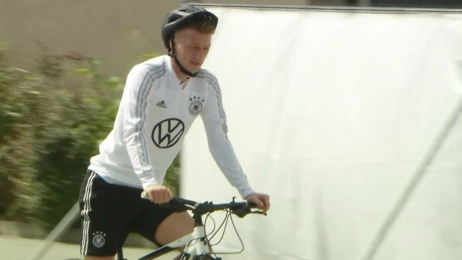 DFB-Team auf Fahrradtour