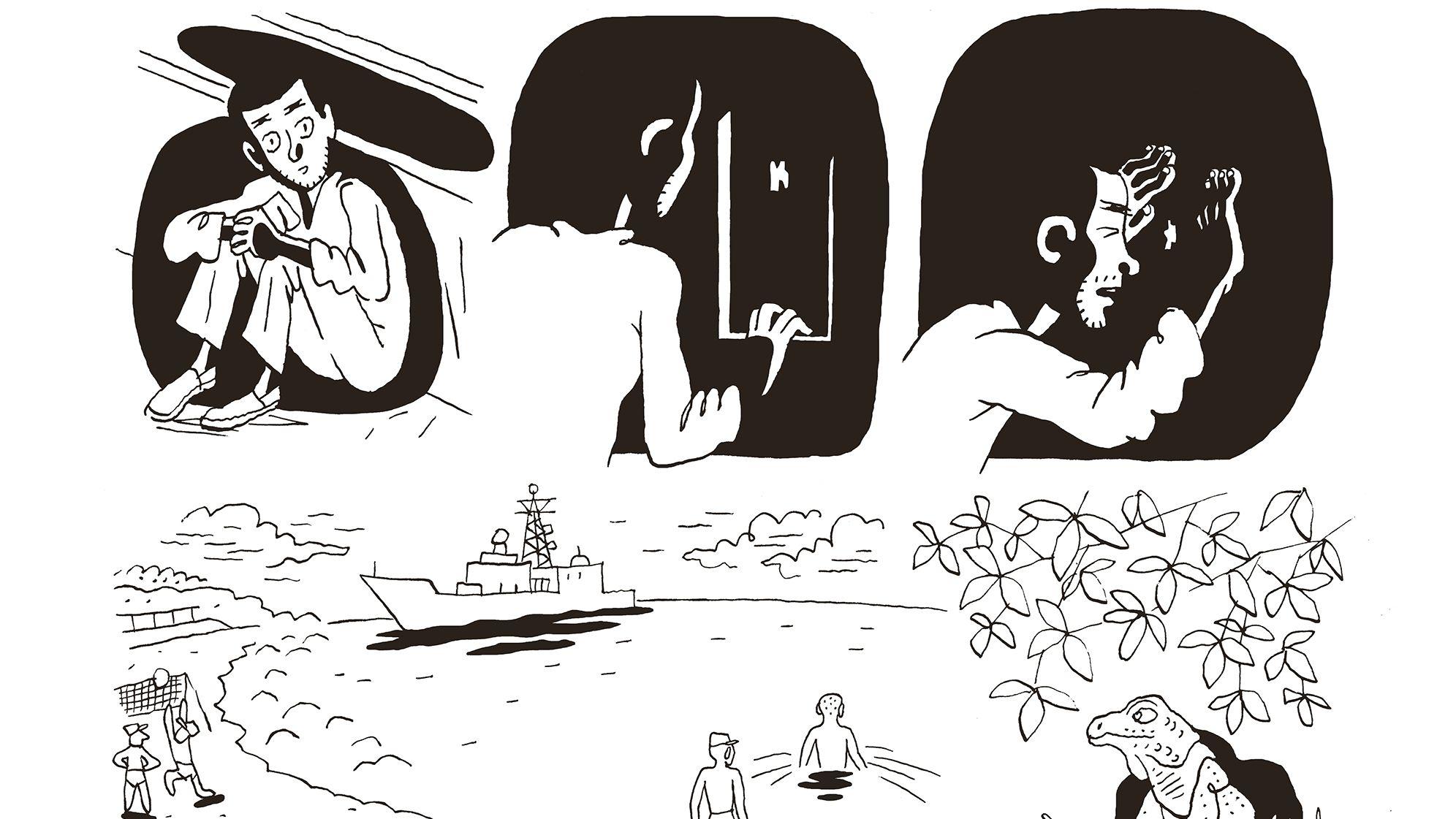 Als Kind wurde Mohammed nach Guantanamo deportiert