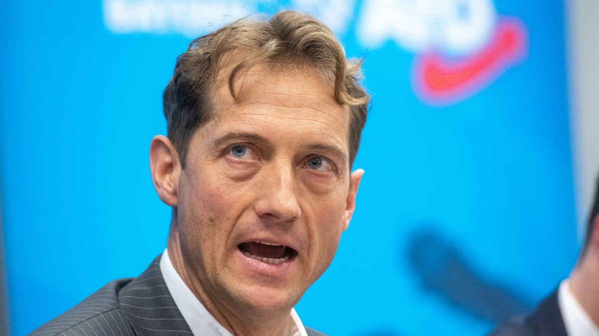 Der AfD-Fraktionsvorsitzende im Bayerischen Landtag, Ingo Hahn.