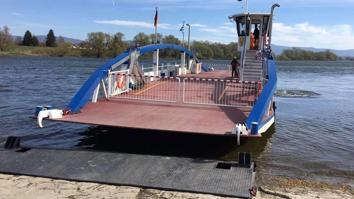 Die Donaufähre Posching