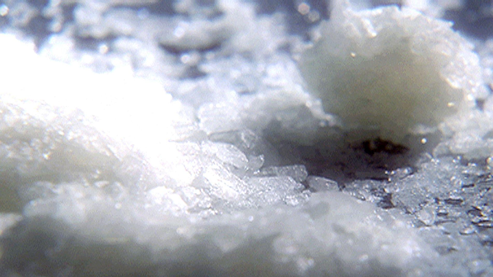 Das weiße Crystal Meth sieht unschuldiger als Heroin