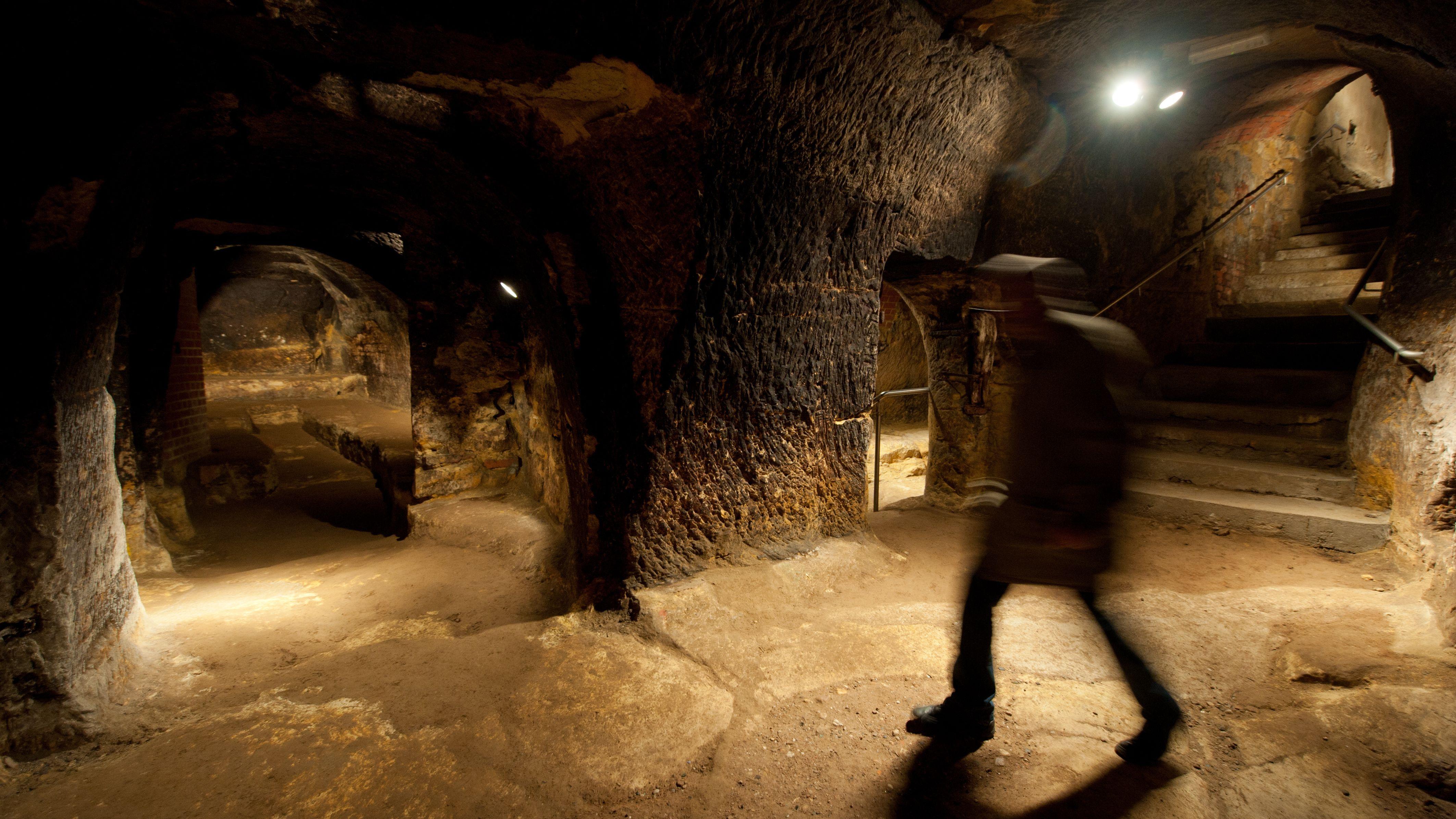 Unter Schwandorf liegt ein Felsenkeller-Labyrinth.