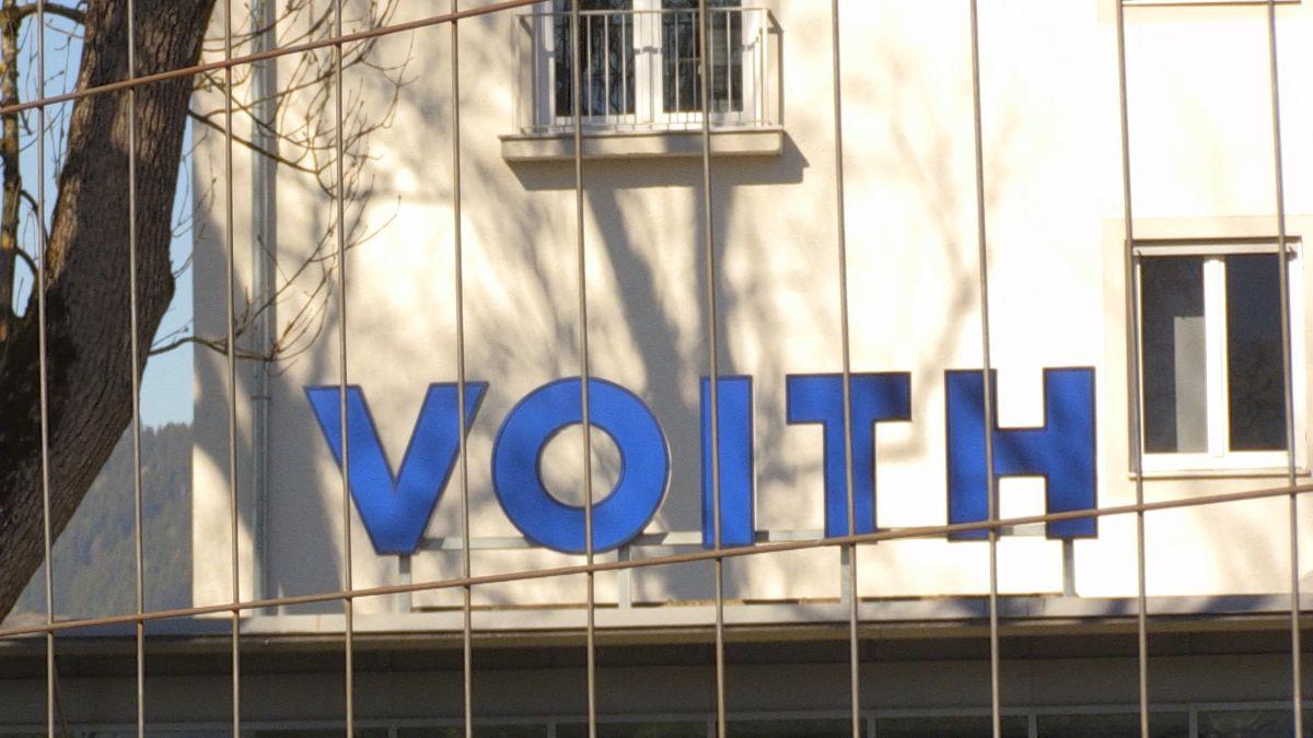 Logo des Maschinenbauers Voith