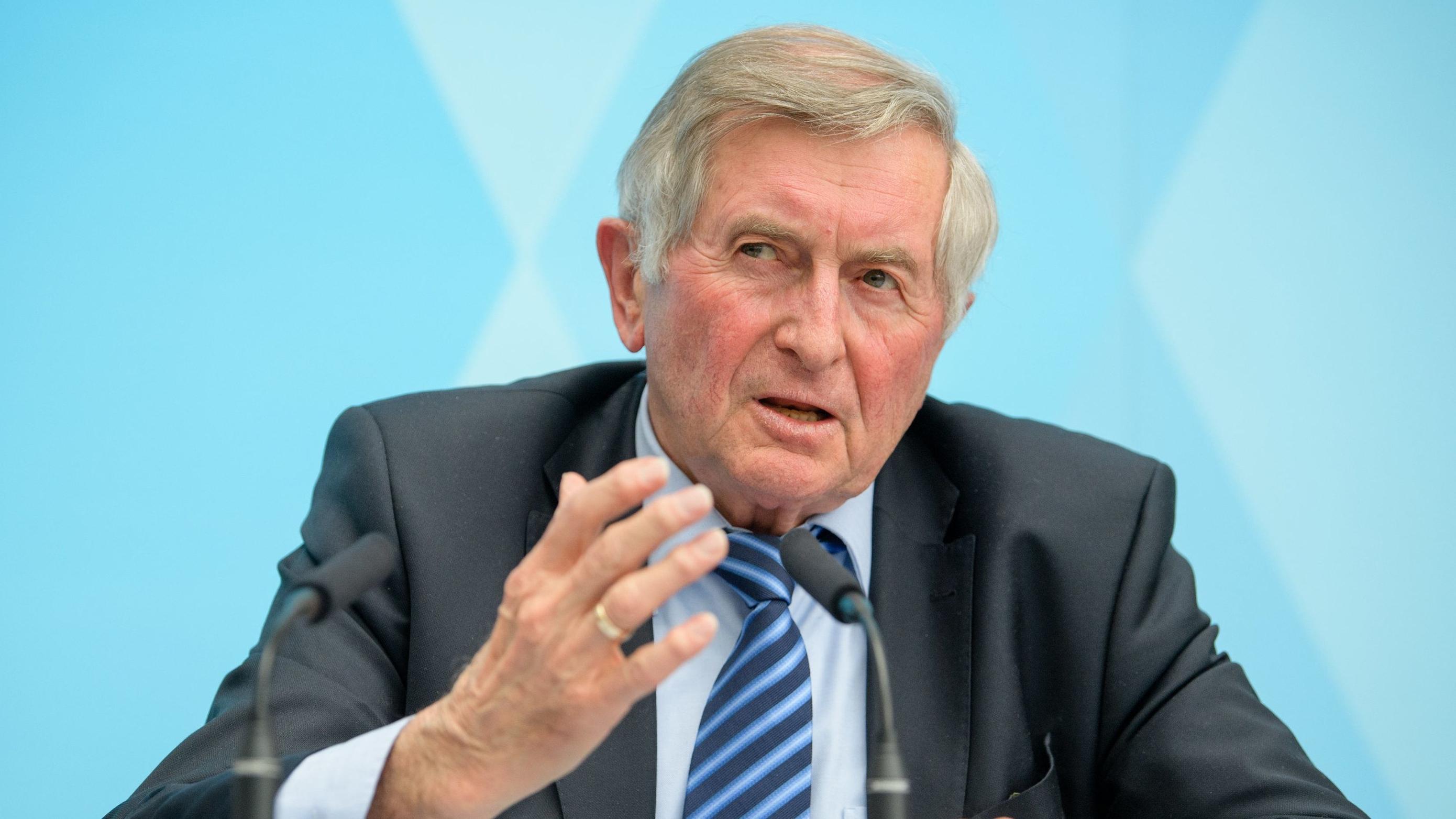 Alois Glück, ehemaliger Landtagspräsident
