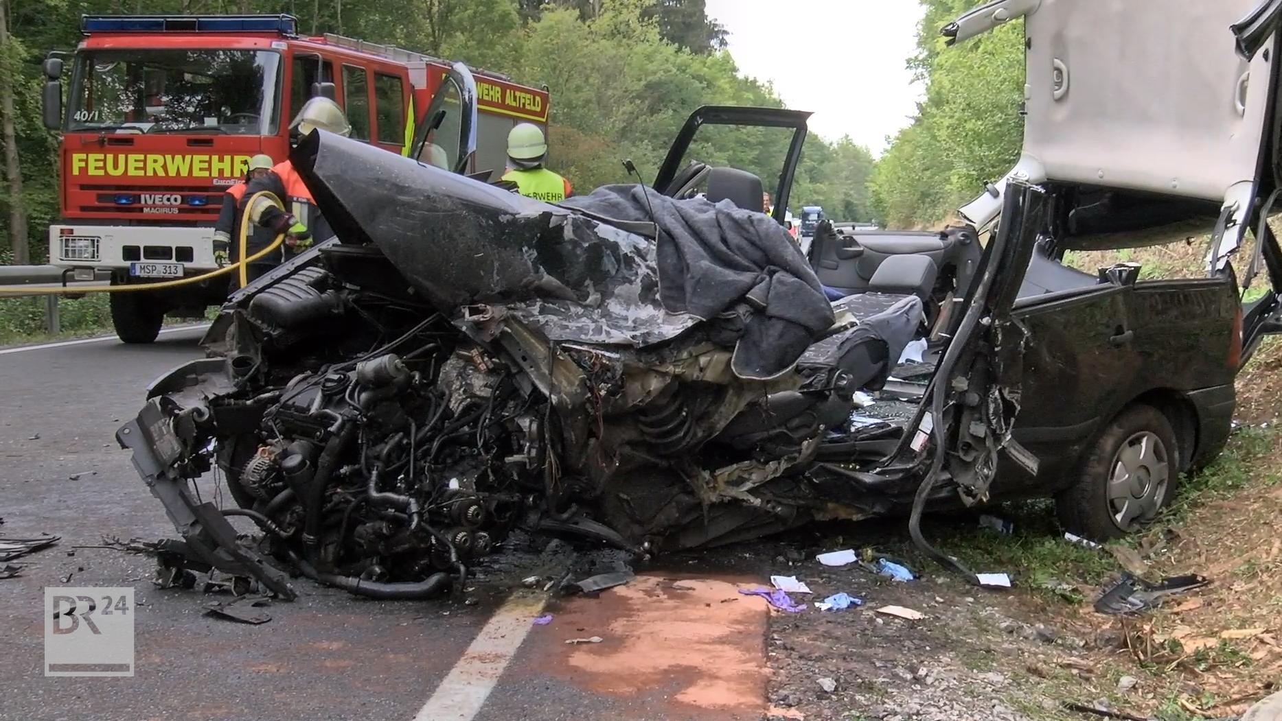 Auto der Unfallverursacherin